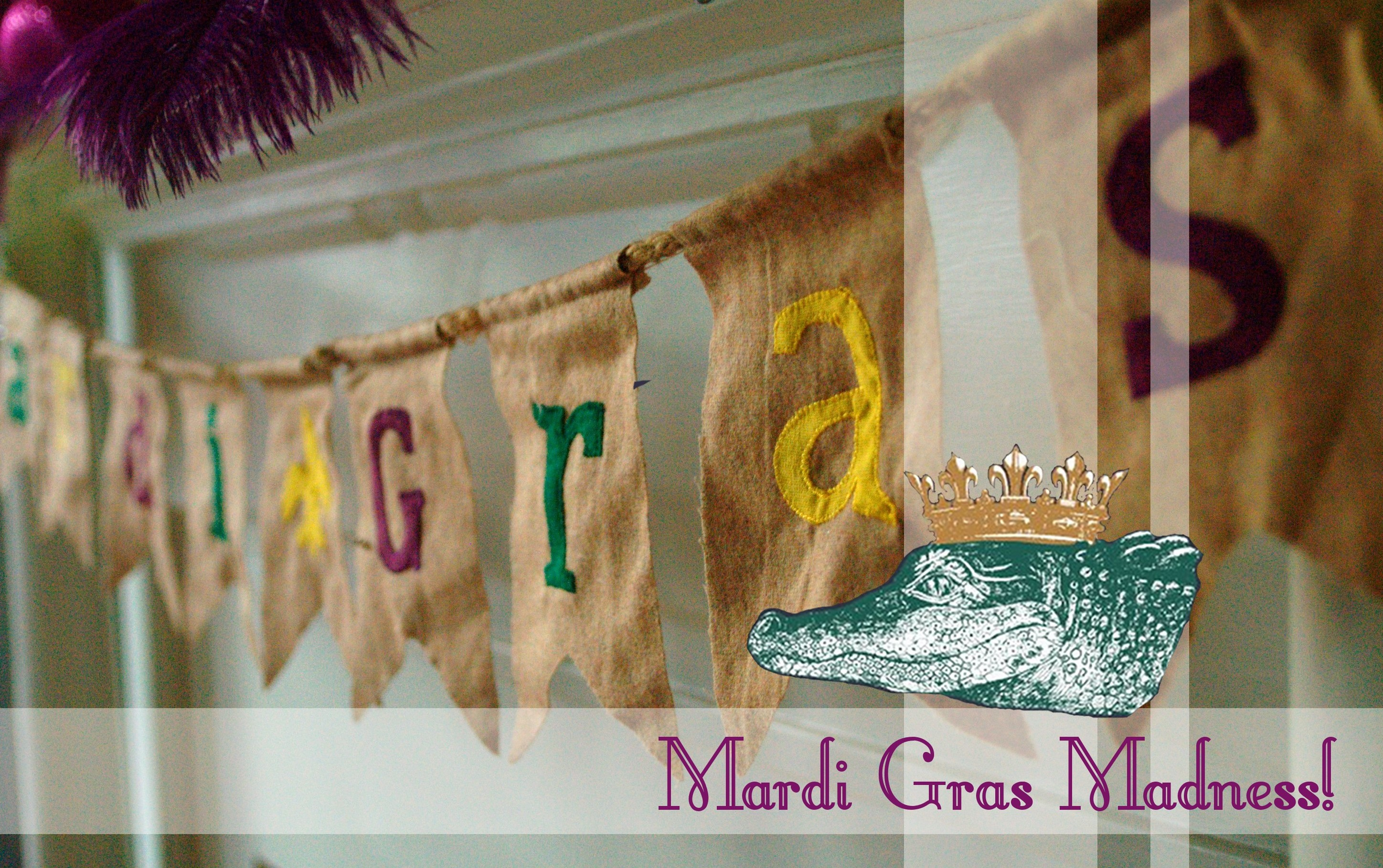 Mardi Gras Decorations An Orderly Abode
