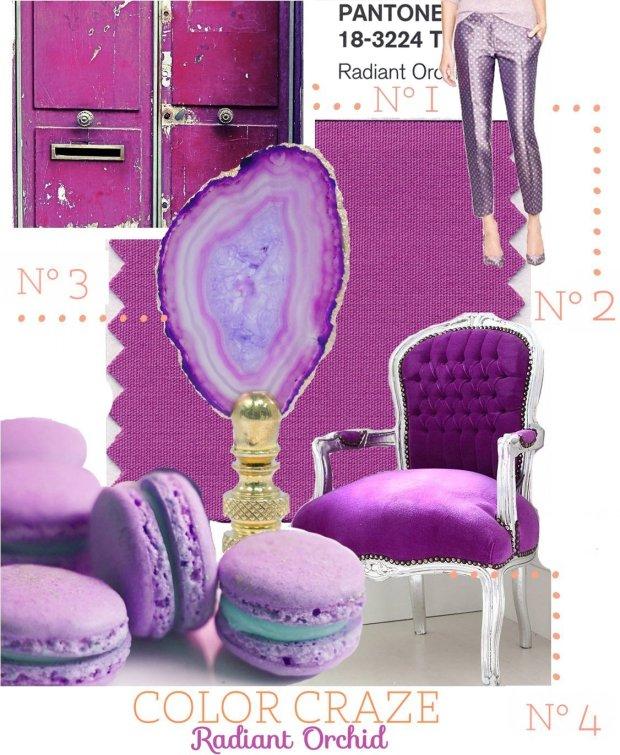 Color Craze: Radiant Orchid