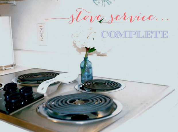Stove Service: complete