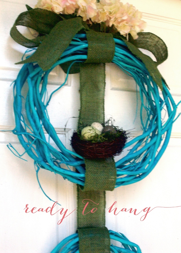 Hang Spring Wreath