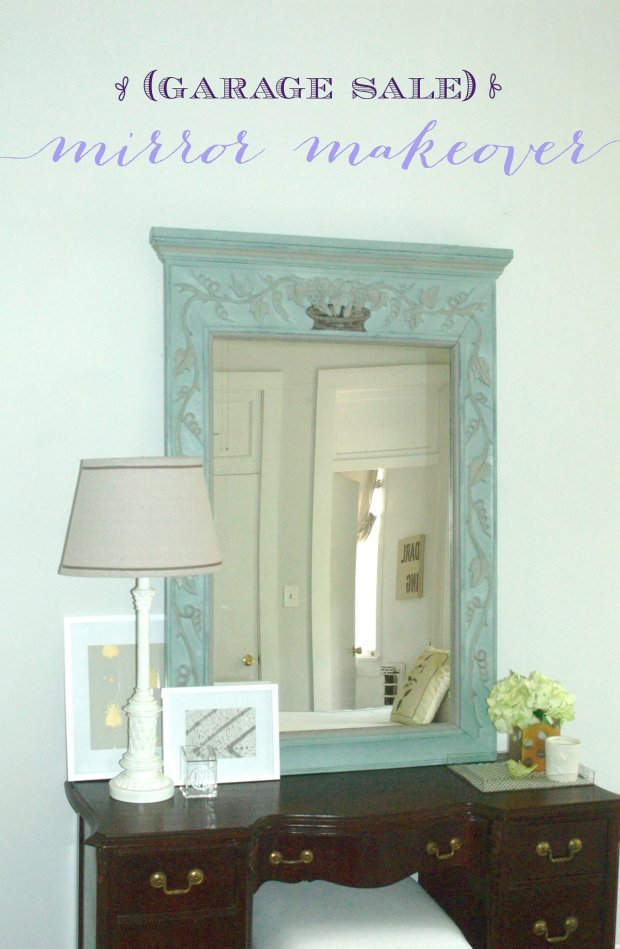 Mega Steal Mirror Makeover