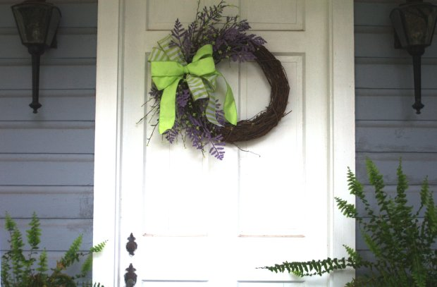 SPRING WREATH : voila!