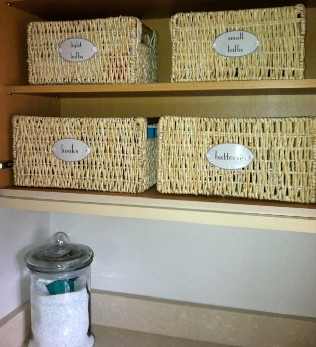 ORGANIZING - laundry