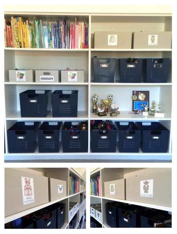 ORGANIZING - playroom